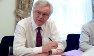 (Brexit Minister) David Davis