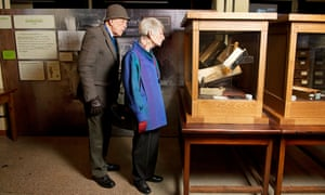 Dr Peter Jarvis and Sue Perkins at Bletchley Park