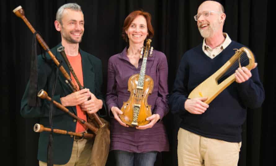 Pibroch and roll … Barnaby Brown, Clare Salaman & Bill Taylor.