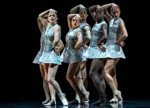 Scottish Ballet dancers in Sophie Laplane's Dextera.