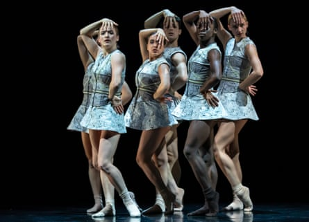 Scottish Ballet dancers in Sophie Laplane's Dextera.