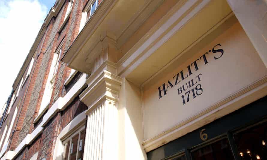 'An under-the-radar gem': Hazlitt's.