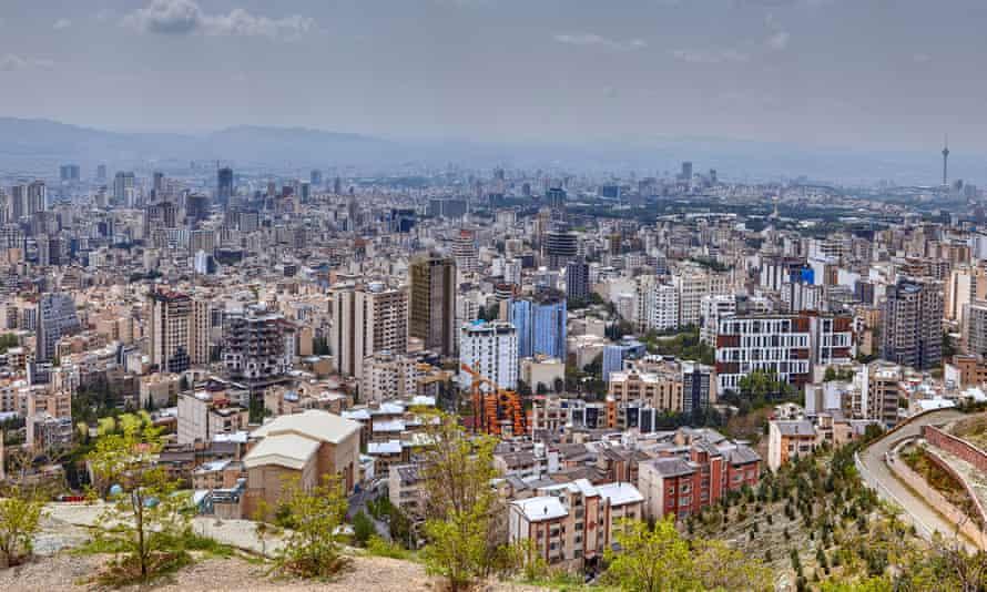 Tehran, capital city of Iran.