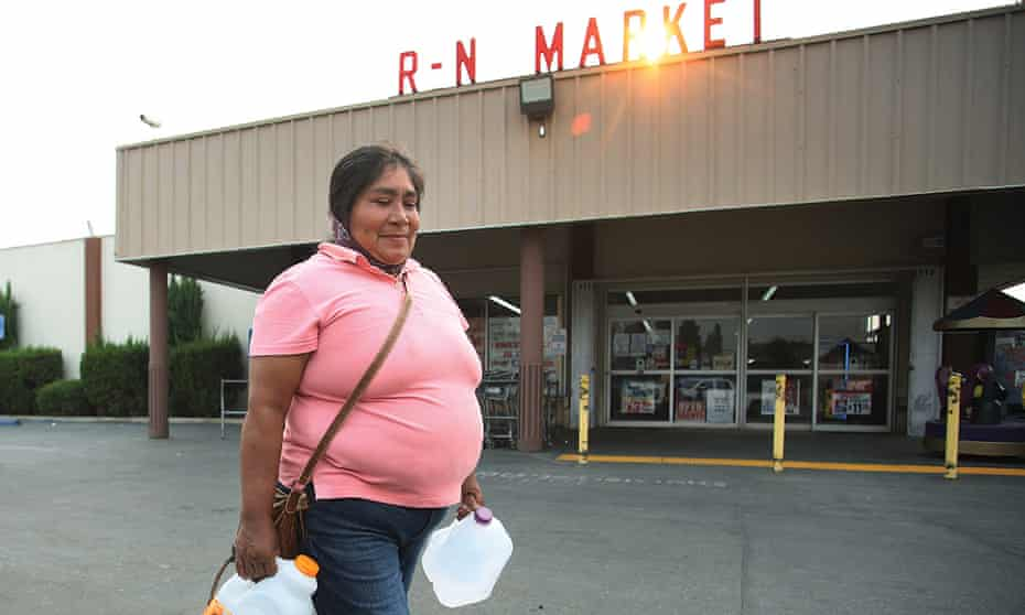 California resident Florencia Ramos has been purchasing drinking water for herself and her family for more than a decade.