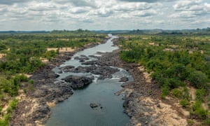 Parts of the Xingu river are already all but unnavigable