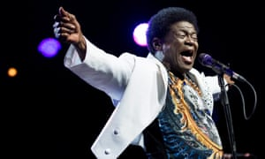 Charles Bradley on stage at the 50th Montreux jazz festival in 2016.