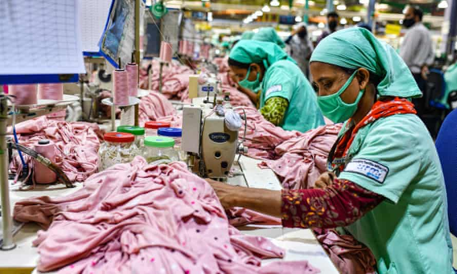 Garment workers in Gazipur, Bangladesh.