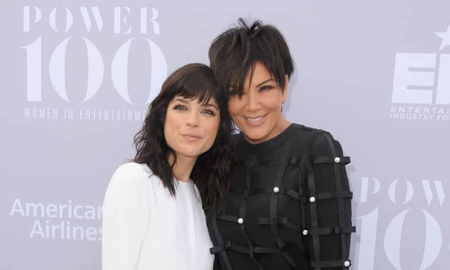 Selma Blair and Kris Jenner arrive at The Hollywood Reporter's Annual Women In Entertainment Breakfast at Milk Studios on December 9, 2015 in Los Angeles, California