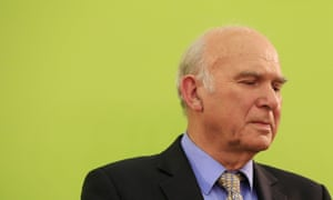 Vince Cable after losing his seat in the general election.