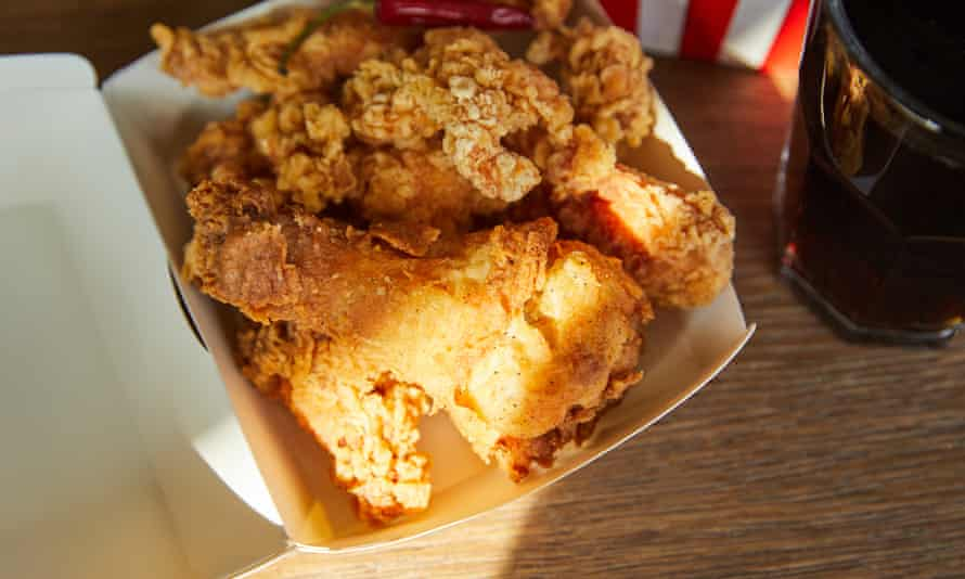 'Back then, I'd promised myself that as soon as I was old enough, I'd eat fried chicken all the time.'