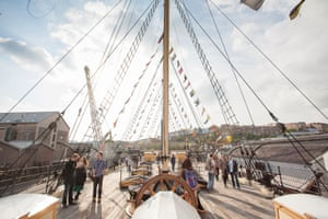 Deck of the SS Great Britain, Bristol