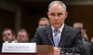 Scott Pruitt had such an apparent disregard for government ethics and political norms, that many questioned whether he would ever leave office.