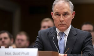 Former EPA chief Scott Pruitt left the Trump administration after controversy over his spending, travel and ties with industry.