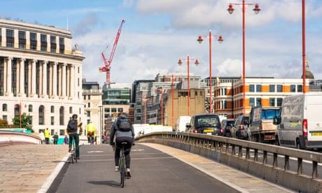 UK to invest £250m in cycle lanes in bid to prevent coronavirus resurgence