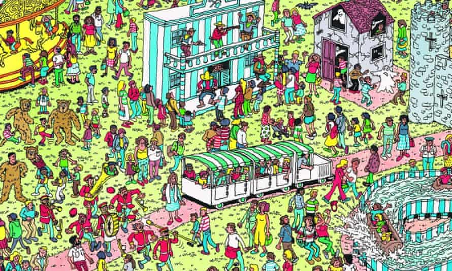 Where's Wally? Can you spot him?