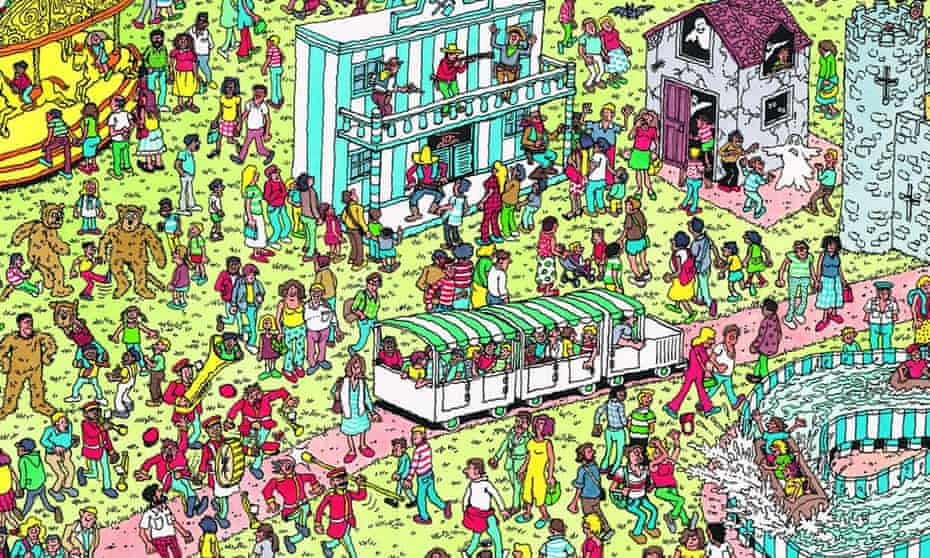 'Who knows why Where's Wally? became Where's Waldo?, but it worked.'
