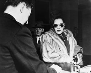 Holiday at a court hearing in San Francisco in 1949