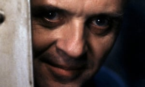 Anthony Hopkins in Silence of the Lambs (1991).