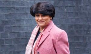 Shriti Vadera, chair of Santander UK