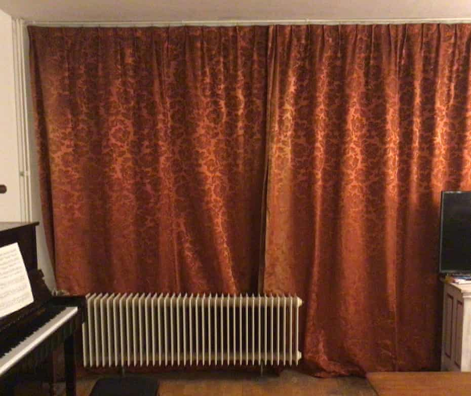 It's curtains for you.