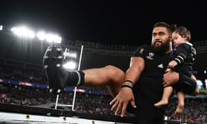New Zealand prop Nepo Laulala leaves the World Cup with a bronze medal.