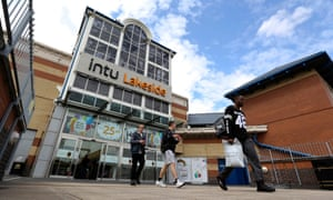 Shoppers At Intu Properties Plc's Lakeside Shopping Centre