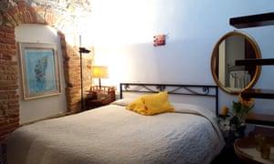A bedroom at Borgo di Sempronio,