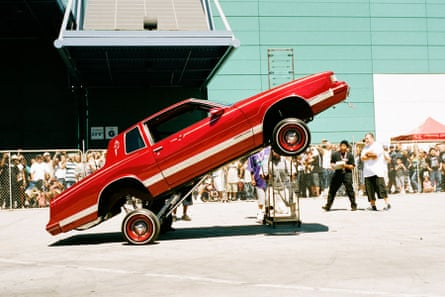Empowerment … a 'lowrider' convention in Los Angeles.