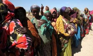Internally displaced women in Somalia