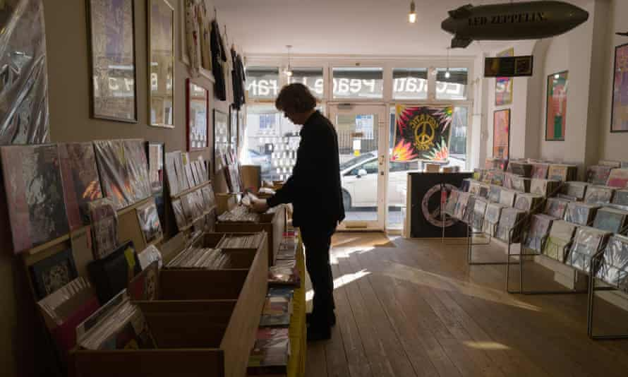 Less a shop, more an experiment … Thurston Moore's pop-up record store on Stoke Newington Church Street.