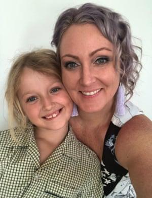 Nikki Horsford with her daughter Portia.