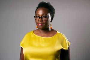 Author Jennifer Nansubuga Makumbi photographed in Manchester.