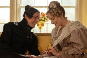 'Intriguing': Suranne Jones and Sophie Rundle in Gentleman Jack.