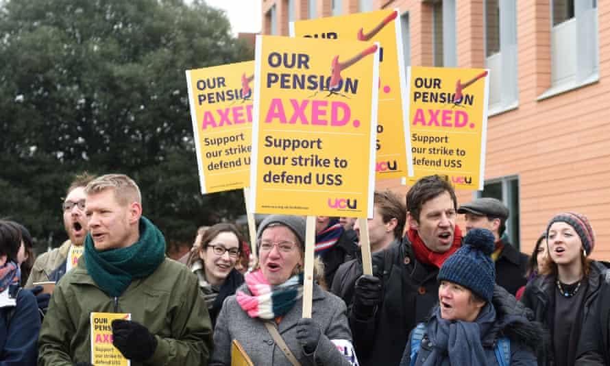 Protest at Cambridge University