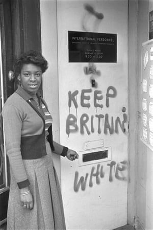 Face of resilience … Barbara Grey at a training centre for black women in 1974.