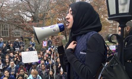 donald trump muslim protest