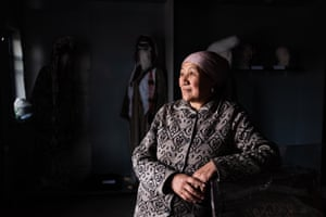 Buunisa Termechikova, who has opened a museum for Kyrgyz traditions.
