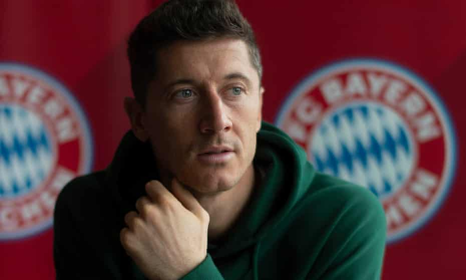 Robert Lewandowski: 'If you score with every chance in training, you are more likely to score in the game'