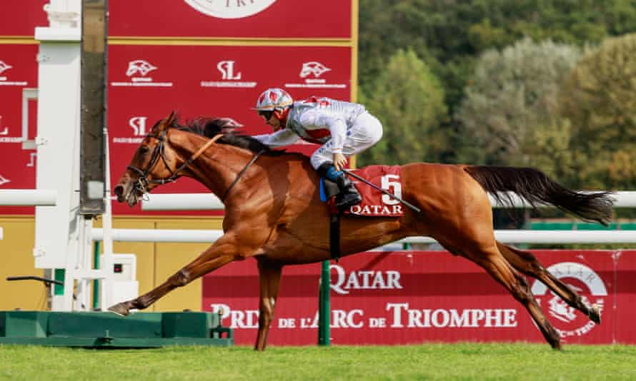 Teona wins the Group One Prix Vermeille
