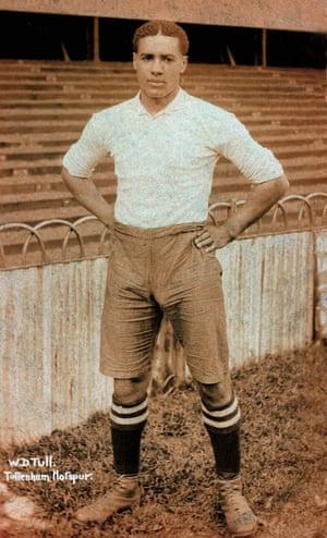 Walter Tull in football kit