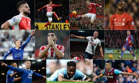 The Premier League's top 11 clubs