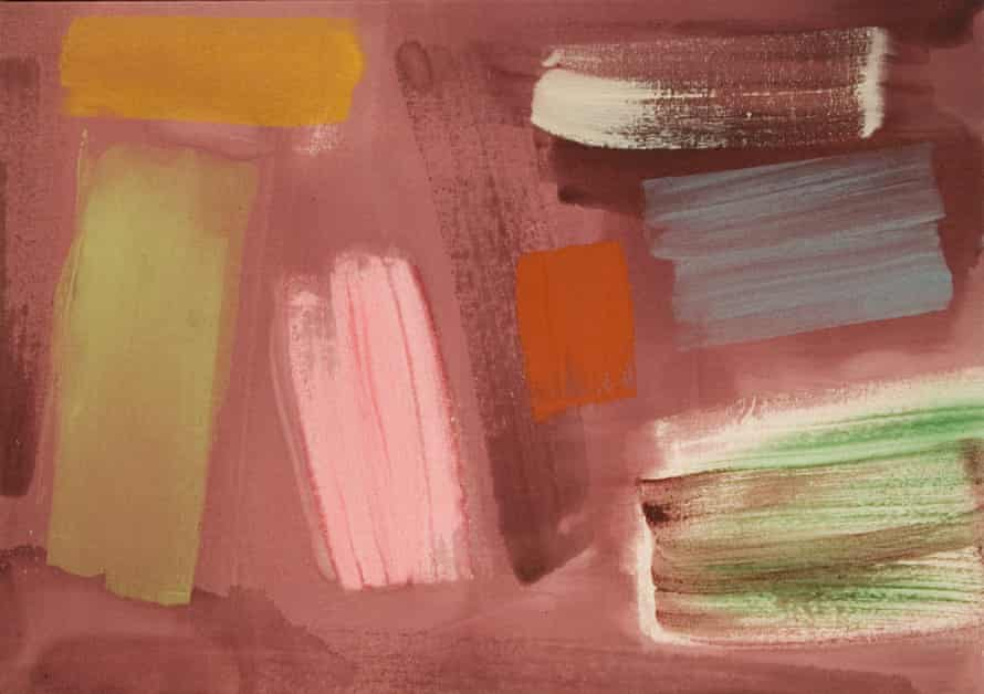 John McLean's Reprise, 1986. 'The most obvious aspect of the natural world that affects my work is light,' he was quoted as saying.