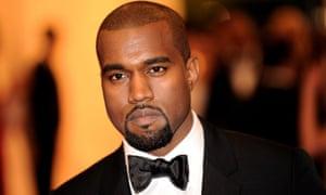 Kanye West, seen at the Metropolitan Museum of Art.
