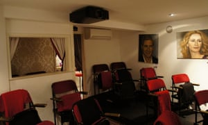 Bournemouth Colosseum Cinema seats