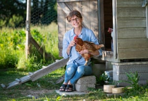 Jane Howorth, the founder of the British Hen Welfare Trust