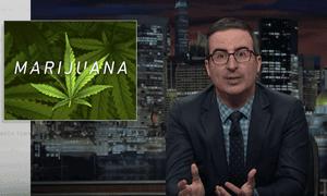 John Oliver talks about legalizing marijuana