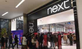 Next store during the Boxing Day sales