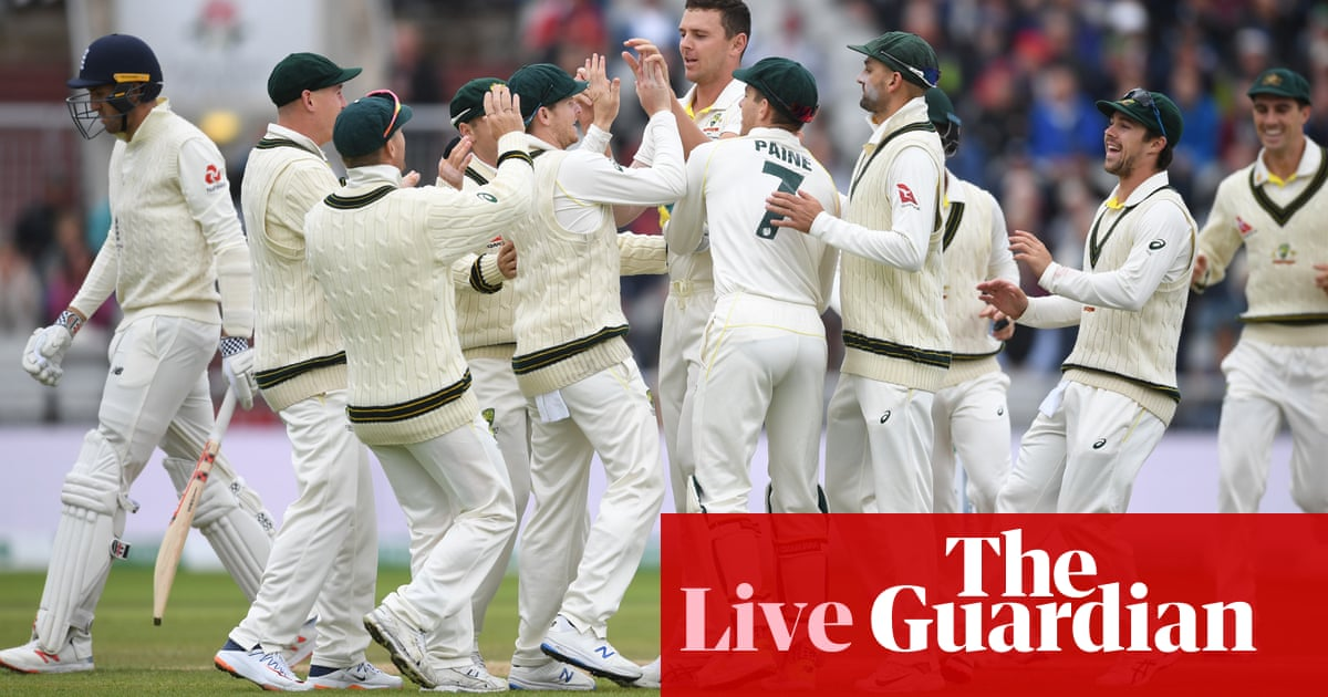 Ashes 2019: England v Australia fourth Test, day three – live!