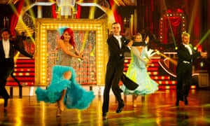 Dianne Buswell and Joe Sugg in a dress rehearsal for Strictly Come Dancing at Blackpool, November 2018.