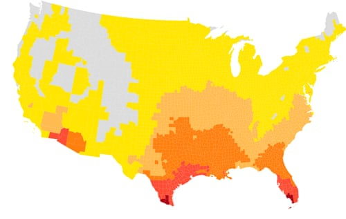 Climate crisis: extremely hot days could double in US, study